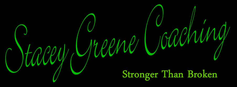 Stacey Greene Coaching - Stronger Than Broken Author